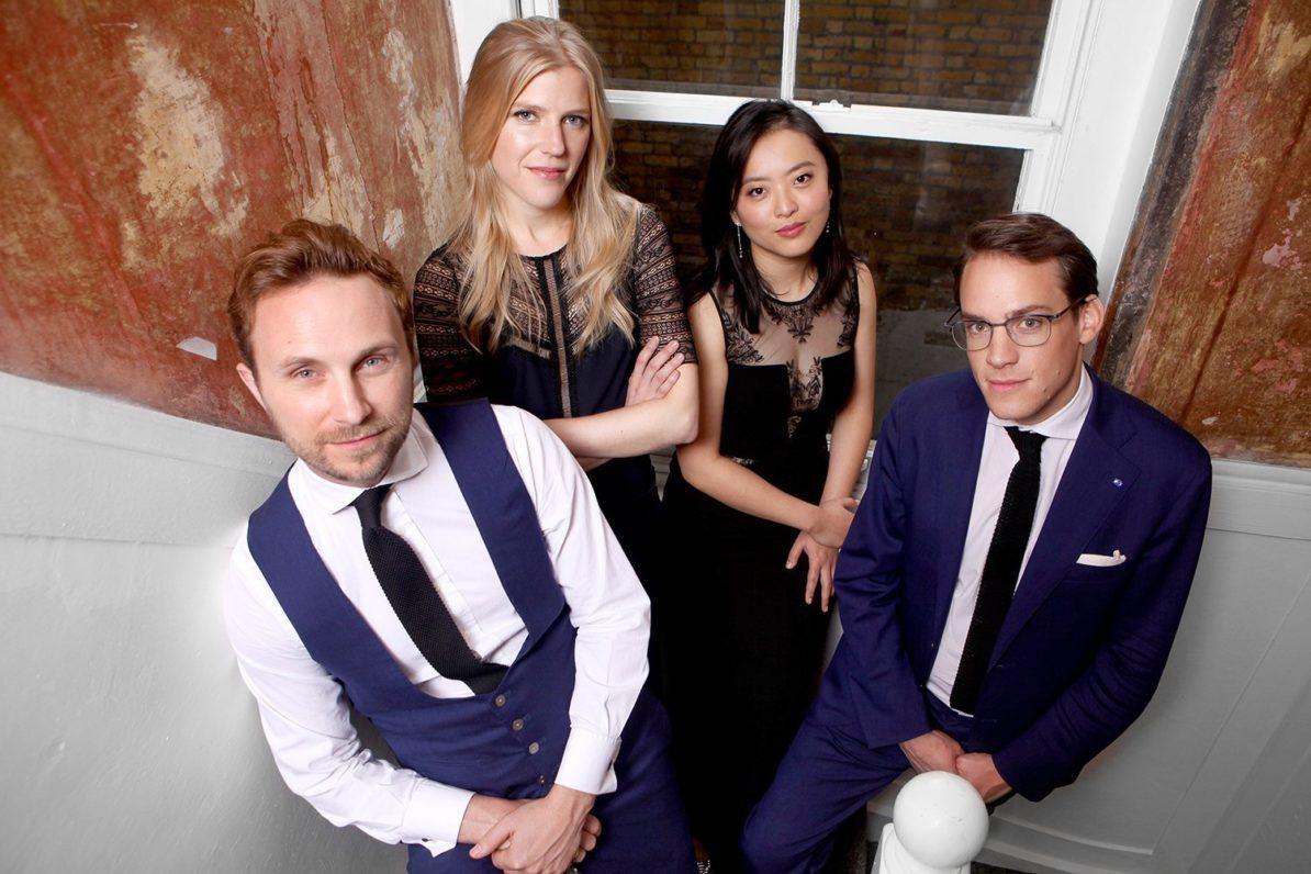 Doric Quartet  Benjamin Grosvenor, piano