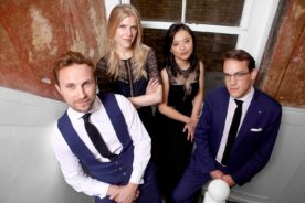 Doric Quartet<br /> Jonathan Biss, piano